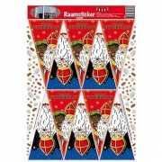 Raamversiering Sinterklaas stickers