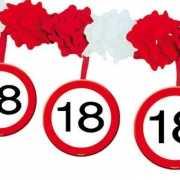 Feest slingers 18 jaar huldeborden