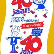 Wc papier 40 jaar man