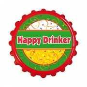 Flesopener bierdop happy drinker