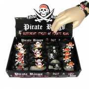 Siliconen piraten armband