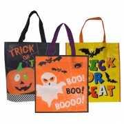 Gele halloween tas voor kinderen