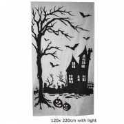 Wandecoratie halloween 120 x 220 cm