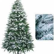 Besneeuwde kerstboom 210 cm