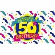 Verjaardag vlag 50 jaar
