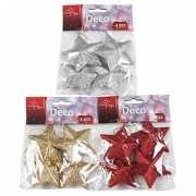 Kerst deco hangers sterren 7 cm