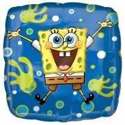 Vierkante Spongebob folie ballon