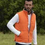 Lemon en Soda oranje heren bodywarmer
