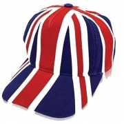 Engeland petten met de Union Jack