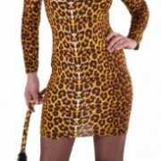 Sexy cat kostuum voor dames