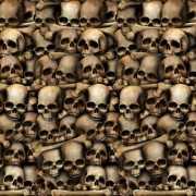Scenesetter met schedels 121 x 914 cm