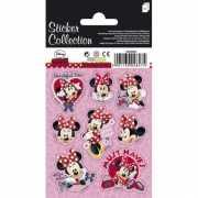 Minnie Mouse stickers op 3 velletjes