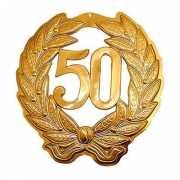 Gouden jubileum krans 50 jaar