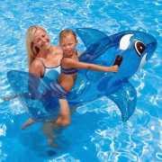Opblaas dieren walvis 160 cm