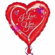 Folie ballonnen Love