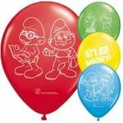 Smurfen feest ballonnen
