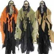 Horrorthema skelet decoratie 1st.
