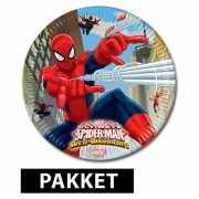 Spiderman feestje pakket