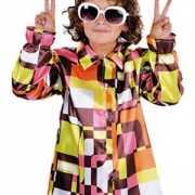 Retro kinder hemd gekleurd