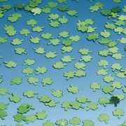 Klavertjes confetti groen 15 gram