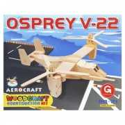 3D vliegtuig houten bouwpakket