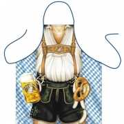 Funny BBQ schorten Oktoberfest Mann