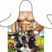 Funny BBQ schorten Hot Doggy Style