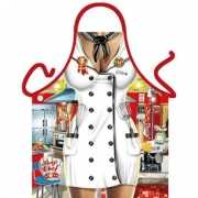 Funny BBQ schorten Chef kok