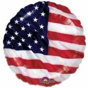 Folie ballonnen Amerika 45 cm