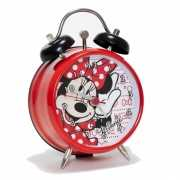 Rood Minnie Mouse wekkertje