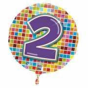 2 jaar folieballon