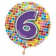 6 jaar folieballon
