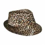 Luipaard print hoeden