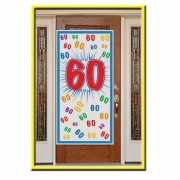 Deurposter 60 jaar 150 cm