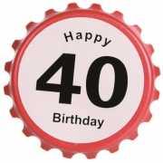 Verkeersbord flesopener 40 jaar