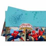Spiderman feest tafelkleed 120 x 180 cm