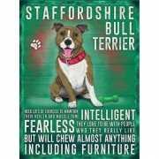 Metalen plaat Bull Terrier