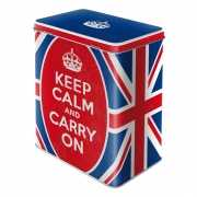 Keep calm and carry on bewaarblik 20 cm