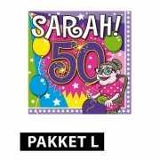 Sarah decoratie pakket Large