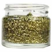 Superstar glittergel goud