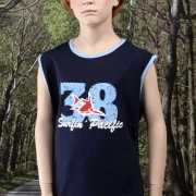 Jongens singlet  38
