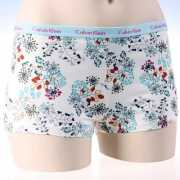 CK dames shorty bloemen print