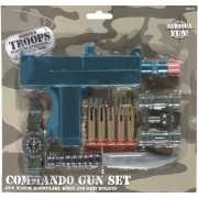 Commando accessoires set