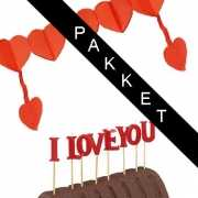 I Love You emotie pakket