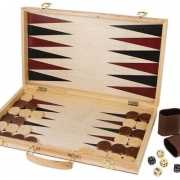 Schaak en Backgammon koffer