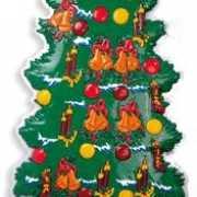 Wanddecoratie kerstboom 100 cm