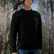 Commando truien zwart