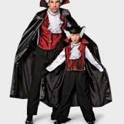 Halloween Vampier kostuum cape