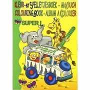 Kleurboek superdik met 112 blz