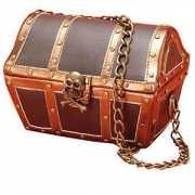 Piraten kist handtasje